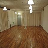 De Studio als yoga / meditatieruimte.